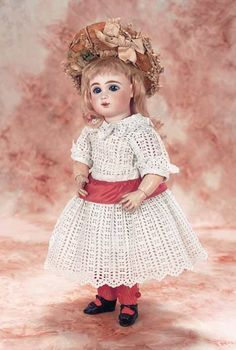 View Catalog Item - Theriault's Antique Doll Auctions. Sweet little antique French Bebe by J.Steiner