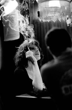 "fanny ardant by Frédérique Barraja on the set of "" Paris,je t'aime"",2006"