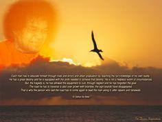 SAI DIVINE INSPIRATIONS: Each Man