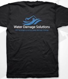 Company T-shirt back