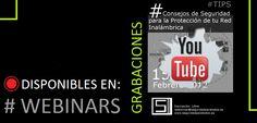 Videos de los #Webinar realizado en Seguridad para Todos.