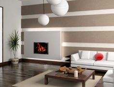 8 living room wall paper ideas