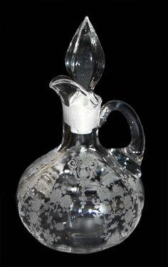 rose point glassware -