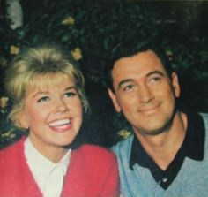Doris Day and Rock Hudson They are just too adorable….