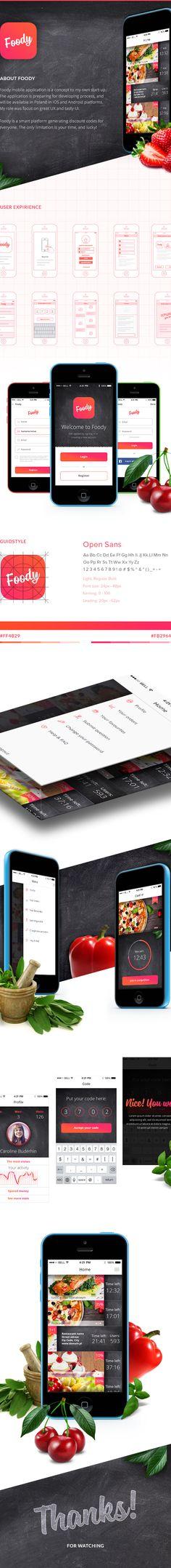 Foody App on App Design Served