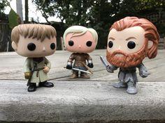 Funko Jaime, Brienne & Tormund - Game of Thrones