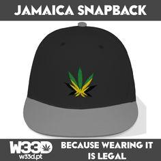 Jamaica Flag Snapback #W33D