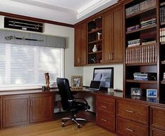 Spaces Office Cabinetry Design, Pictures, Remodel, Decor and Ideas