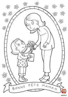 free printable mothers day coloring pages -Free Printable Mom Coloring book Chicken Coloring Pages, Mom Coloring Pages, Coloring For Kids, Coloring Books, Mothers Day Crafts For Kids, Mothers Day Cards, Mothers Day Coloring Sheets, Funny Sketches, Mother's Day Colors