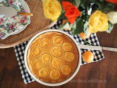 Orangentarte mit Mandelpudding {dieser Duft!}   KleineLoeffelHase Orange, Cooking, Simple, Desserts, Food, Pie, Almonds, Bakken, Kitchen