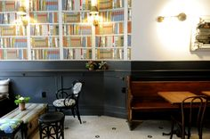 quirky Cafe style @ The Tipsy Parson (NYC)