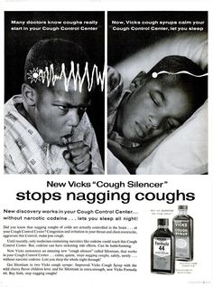 Vicks Formula 44 Cough Syrup (1962)