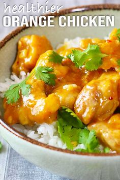 My version of a delicious and healthier Orange Chicken, no deep frying needed and they taste amazing. Easy to make in the convenience of your own home. Lunch Snacks, Healthy Snacks, Healthy Recipes, Yummy Recipes, Baby Food Recipes, Chicken Recipes, Cooking Recipes, Healthy Orange Chicken, Deep Frying