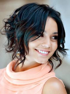 Short Hair Styles For Women   2014 I can curl a bit and pin my hair from the back up :)