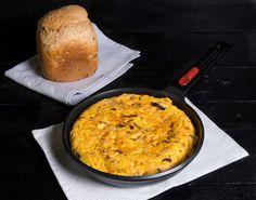 Tortilla española de calabaza y chorizo | La Cocina de Frabisa