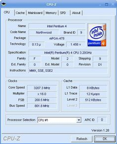 A Very Useful Diagnostic Tool To View Information About Your CPU…CPU-Z Portable 1.62 is a wonderful software to allows you to view information on your CPU and some of the main devices of your system without taking your computer apart.    This free diagnostic tool will give you all the information you need to know about your mainboard,ramboard,and CPU.See detail information below.  (Continue reading and free download at the above link)... Code Names, Continue Reading, Need To Know, Software, Coding, Technology, Detail, Link, Tecnologia