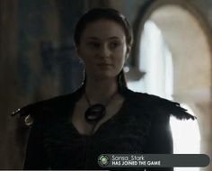 Game of Thrones funny memes. Sansa stark has joined the game. Yes she has..