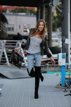 Katie Cassidy Tom Ford Boots