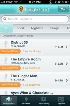 Localmind Screenshots