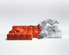 Tufty Time sofa, Patricia Urquiola, 2005 @bebitalia