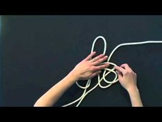How to Tie a Horse Rope Halter - Part 1 - YouTube