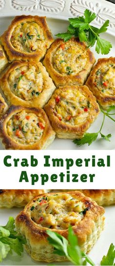 Crab Imperial is an elegant appetizer, perfect for a special occasion or holiday entertaining. You'll be surprised at how easy it is to make!