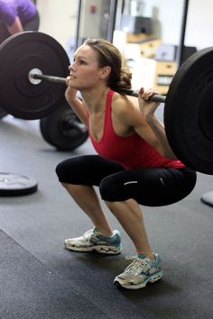 Proper Form for Back Squat-love these!! Up in triple digits for my weight!