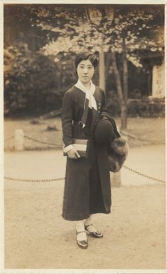 +~+~ Vintage Photograph ~+~+  Japanese Young Woman