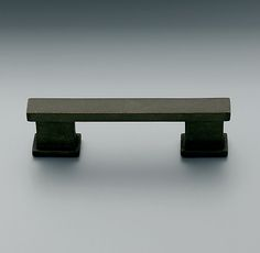 """Strande Pull from Restoration Hardware, oil rubbed bronze. $20 for 8"""" pull"""