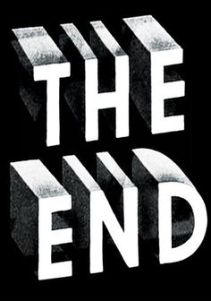Writing the end of your novel.