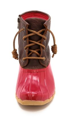 Sperry Top-Sider Saltwater Duck Booties