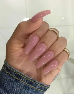 Awesome Acrylic Nail Designs Ideas for This Summer 2019 Part acrylic nails designs; Gorgeous Nails, Love Nails, How To Do Nails, Fun Nails, Pretty Nails, Fabulous Nails, Ongles Beiges, Ballerina Nails, Matte Nails