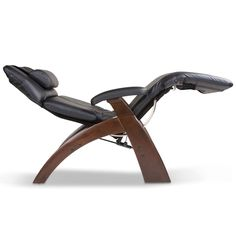 This would be an AMAZING help for my CRPS due to the feet raising above heart plus excellent padding... but, being hand-carved wood base, etc, just a *tad* pricey. :/ The Astronaut's Powered Recliner - Hammacher Schlemmer