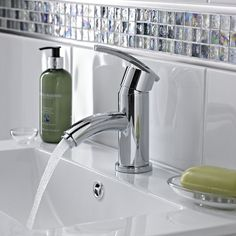 The smooth, sleek design of the Virtue mono basin mixer will complement any contemporary bathroom. http://www.victorianplumbing.co.uk/Premier-Virtue-Mono-Basin-Mixer-without-waste-TVI305.aspx