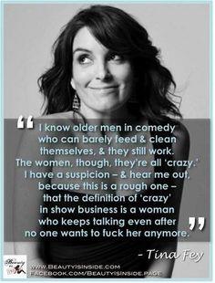 Tina Fey. Quote