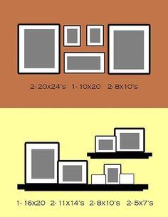 wall photo layout ideas    followpics.co