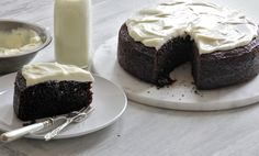 NYT Cooking: Chocolate Guinness Cake