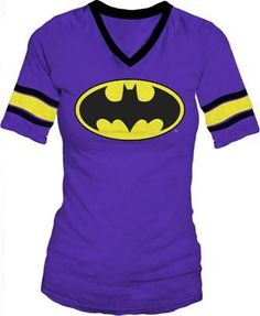 Buy DC Comics Batman Hockey Juniors V-Neck Purple T-shirt Tee at Wish - Shopping Made Fun Batman Shirt, I Am Batman, Batman Stuff, Batman Converse, Batman Room, Batman Superhero, Batman Wonder Woman, Batman Outfits, Purple T Shirts