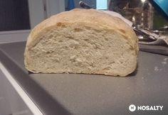 Házi kenyér gyorsan és egyszerűen | NOSALTY Bread, Recipes, Food, Brot, Recipies, Essen, Baking, Meals, Breads