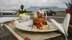 """All the way from Germany, a special thanks to pmi12 from Hamburg for this great review!  """"Cake with a view""""  Don't miss the view on Table Mountain from Bloubergstrand! It's very impressive. After having taken lot's of lovely memories enjoy the view a lot more with jummy cakes and great coffee at Petit Four. Aesthetic Experience, Table Mountain, Great Coffee, Unique Recipes, All The Way, Cape Town, Germany, Memories, Cakes"""