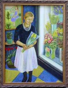 """""""Flower Girl"""" by Lora Shelley"""