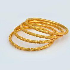 Gold-Kangans - Bangles