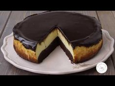 YouTube Chocolate Cheesecake Recipes, Easy Cheesecake Recipes, Cheesecake Brownies, Cheesecake Bites, Pumpkin Cheesecake, Cookie Recipes, Dessert Recipes, Desserts, Granny's Recipe