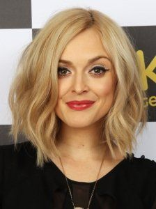 Fearne Cotton Wavy Bob Hairstyle