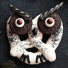 Owl Themed Snack Ideas! #owls #snacks #food #birds