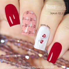 80 easy valentine's day nail art ideas designs 2020 page 13 Trendy Nail Art, Stylish Nails, Latest Nail Designs, Nail Art Designs, Army Nails, Gell Nails, Acrylic Nails Coffin Short, Instagram Nails, Holiday Nails
