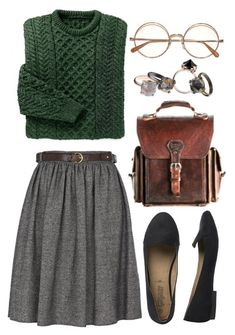 Minus the glasses, since I do not need them (still!) # Uses fashion - Moda y accesorios - Winter Style Mode Outfits, Fall Outfits, Casual Outfits, Fashion Outfits, Fashion Trends, Skirt Outfits For Winter, Geek Chic Outfits, Fashion Bags, Fashion Jewelry