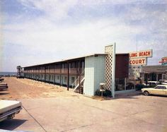 Pc Beach Long Court Motel Wesley Johnson Old Panama City