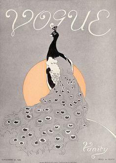Old school Vogue litho.