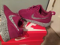 Custom Roshe Run Speckles by SneakerFlex on Etsy, $135.00